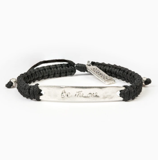My Saint My Hero Be The One Blessing Bracelet Mother Theresa | Wearable Blessing 14040Bk silver