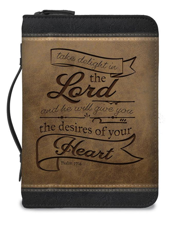 Nicole Brayden Bible Cover Take Delight In The Lord