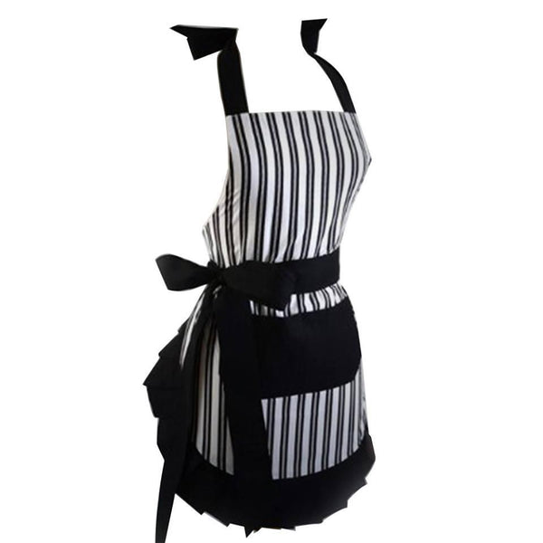 Ruffle Apron With Monogram Pepper & Oliver