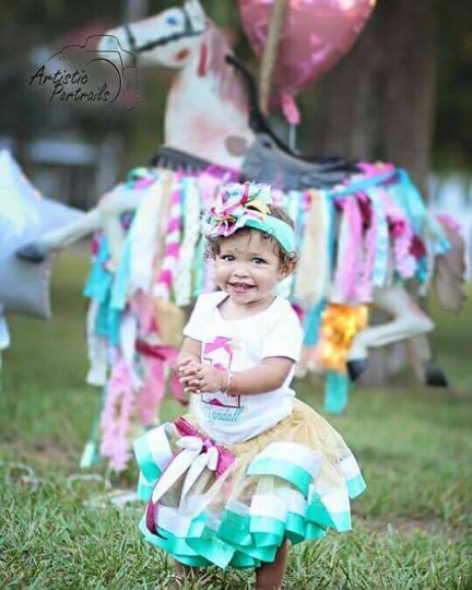 Chevron Birthday Outfit Darling Custom Designs