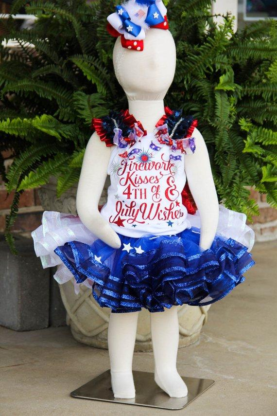 Fourth of July Ribbon Tank | Pageant Darling Custom Designs