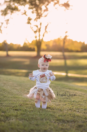Autumn Pumpkin Birthday Outfit Darling Custom Designs