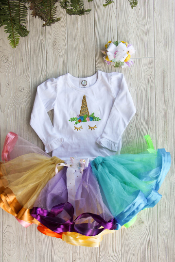 Unicorn Birthday Outfit