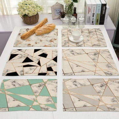 Marbleize Table Mat