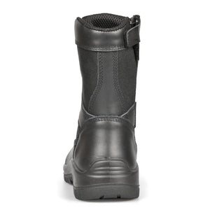 Black A3 Side-Zip Combat Boot