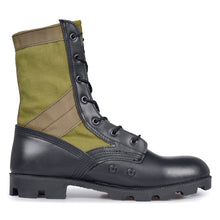 Load image into Gallery viewer, Olive Green Jungle Boot