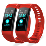 SOGA 2X Sport Smart Watch Health Fitness Wrist Band Bracelet Activity Tracker Red