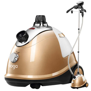 SOGA Professional Commercial Garment Steamer Portable Cleaner Steam Iron Gold