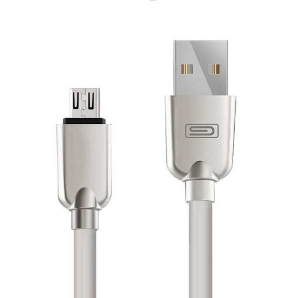 Android 1.5M Lightning Micro USB Data Sync Charger Cable Cord Samsung White