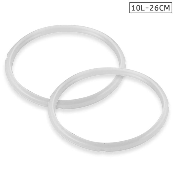 Silicone 2X 10L Pressure Cooker Rubber Seal Ring Replacement Spare Parts