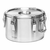 SOGA 304 15L Stainless Steel Insulated Food Carrier Food Warmer