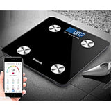 SOGA 2 x Wireless Bluetooth Digital Body Scale Bathroom Health Analyser Weight Black/Pink