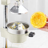 SOGA Commercial Manual Juicer Hand Press Juice Extractor Squeezer Orange Citrus White