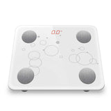 SOGA Wireless Bluetooth Digital Body Fat Scale Bathroom Health Analyser White