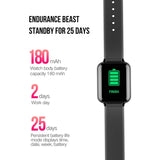 SOGA Fitness Smart Watch Heart Rate Monitor With 2X Wrist Band Replacement Strap
