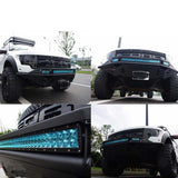 23inch 144W Cree Led Light Bar Spot Flood Light 4x4 Offroad Work Ute Atv 12v 24v