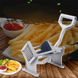 SOGA 2X Commercial Potato French Fry Fruit Vegetable Cutter Stainless Steel 4 Blades