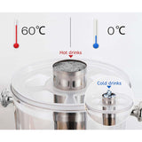 SOGA 2x Single 8L Juicer Water Milk Coffee Pump Beverage Drinking Utensils
