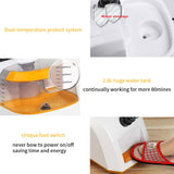 SOGA 2X 80min Professional Commercial Garment Steamer Portable Cleaner Steam Iron White