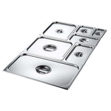 SOGA Gastronorm GN Pan Lid Full Size 1/1 Stainless Steel Tray Top Cover