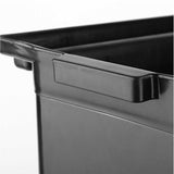 SOGA 2x Food Trolley Large & Small Utility Cart Waste Storage Bin