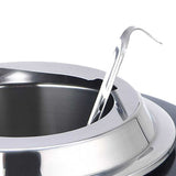 SOGA 2X 10L Soup Kettle Commercial Soup Pot Electric Soup Maker Stainless Steel