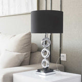 SOGA Simple Industrial Style Table Lamp Metal Base Desk Lamp