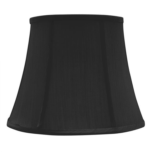 Black Shade for Bedside lamp- American Fitting  20x30x24cmh