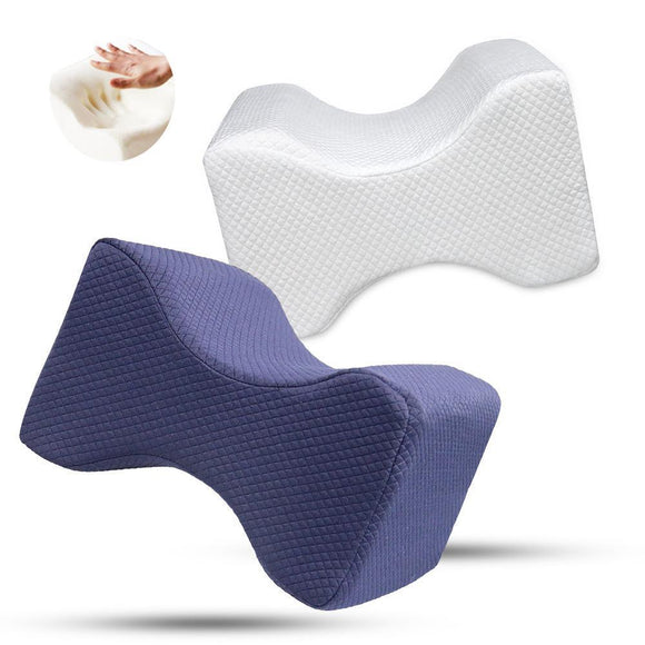 Memory Foam Orthopedic Side Sleeper Leg Pillow - Groupy Buy