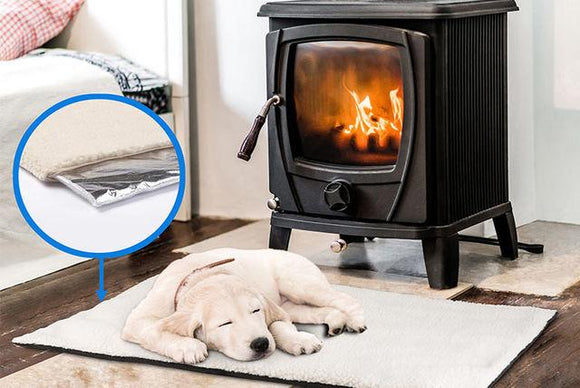 Self-Heating Pet Bed