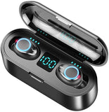 Touch Control Wireless Bluetooth Earphones TWS IPX5 Waterproof Touch Wireless Stereo Bluetooth Headset - Groupy Buy