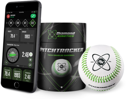 Diamond Kinetics PitchTracker Smart Baseball - thepitchingpro