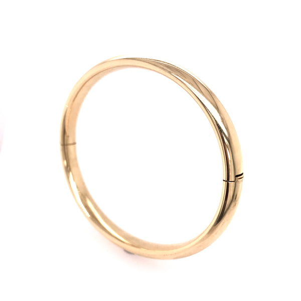 Classical Bangle in Yellow Gold