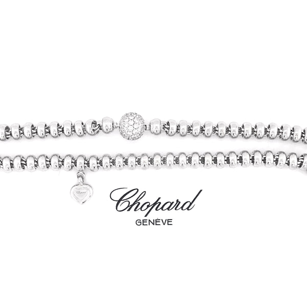 Chopard 'Les Chaines' Collier with diamond sphere