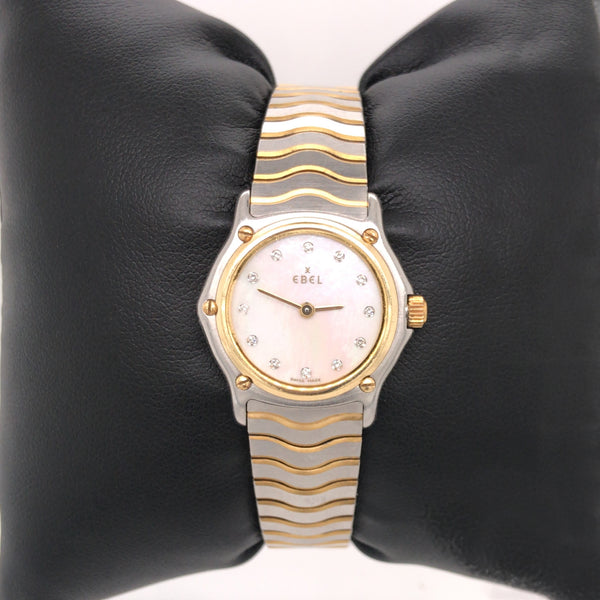 Ebel Classic Wave Lady watch Motherpearl dial with Diamonds
