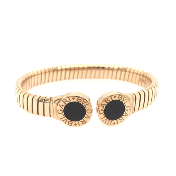 "Bvlgari ""Tubogas"" Bangle Bracelet"