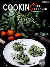 Load image into Gallery viewer, Each purchase allows you to read Cooking Green Goodness Magazine | The Intro Issue on issuu.com anytime. It does not include a printed copy of the magazine. Read on your desktop, tablet or mobile devices.