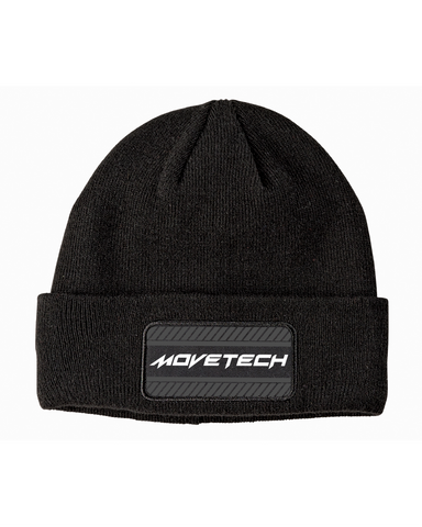 Essential Beanie V1 - Smoke Black - Reflective
