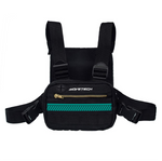 Essential Chest Bag V1 - Jaded Teal - Reflective