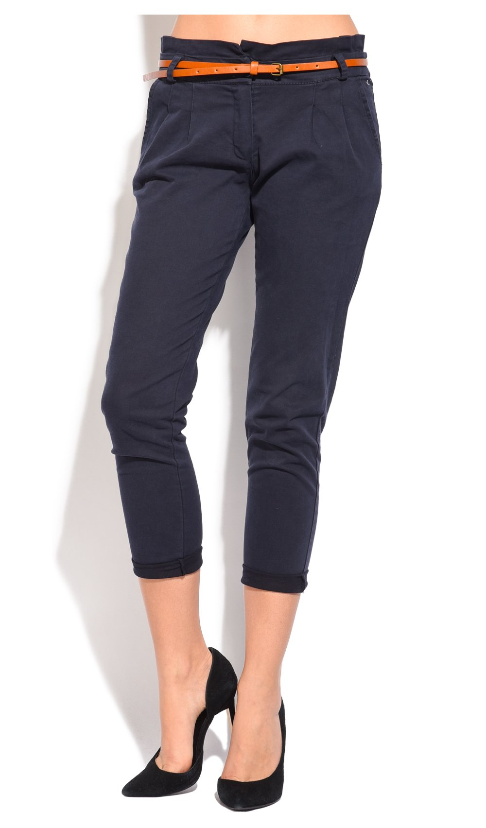 CLASSIC FIT PANT WITH BELT