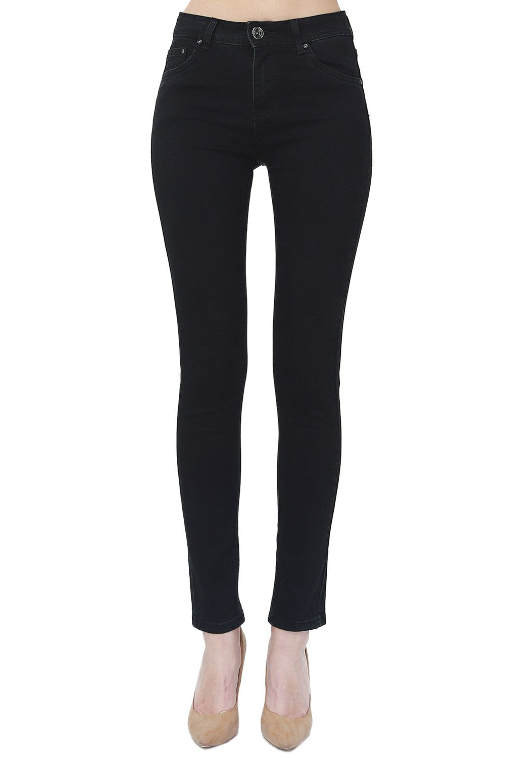 HIGH WAIST AND STRAIGHT FIT PANT