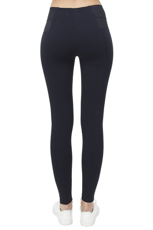 SLIM FIT PANT WITH ELASTIC WAIST BAND