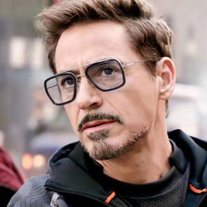 Tony Stark Glasses Men The Avengers 3 Square Glasses Frame