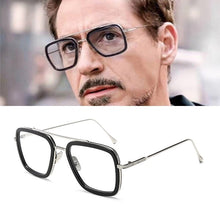 Load image into Gallery viewer, Tony Stark Glasses Men The Avengers 3 Square Glasses Frame
