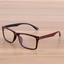 Load image into Gallery viewer, Reven Glasses Men and Women Unisex Wooden Pattern Fashion Retro Optical Spectacle Eyeglasses Glasses Frame Vintage Eyewear