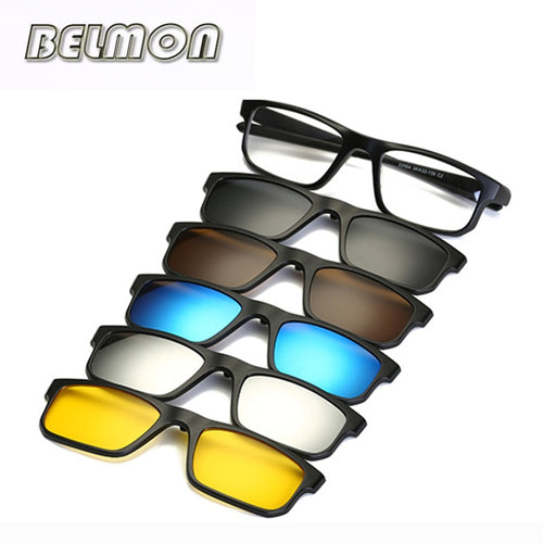 Polarized Magnetic Glasses