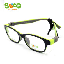 Load image into Gallery viewer, SECG Optical Children Glasses Frame TR90 Silicone Glasses Children Flexible Protective Kids Glasses Diopter Eyeglasses Rubber
