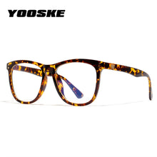 Load image into Gallery viewer, YOOSKE Vintage Anti Blue ray Glasses Frame Women Reading Goggle Blue Light Proof Glasses Computer Transparent Optical Eyewear