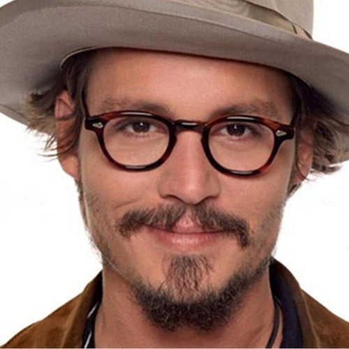 Vintage Glasses Frame Johnny Depp Style
