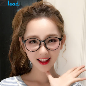 Zilead Retro Round Anti Blue Light Computer Eyewear Frame For Women&Men HD Optical Spectacle Glasses Eyeglasses Frame Unisex